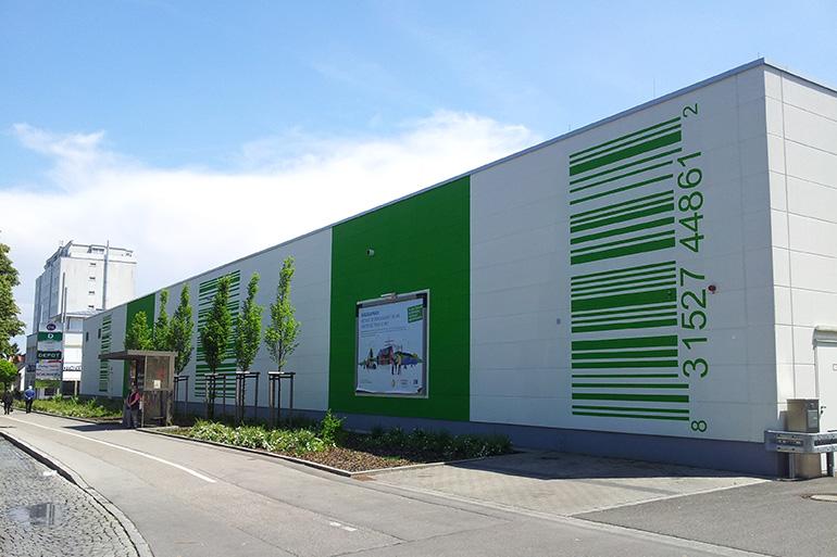 Fachmarktcenter Stadtbergen Architektur