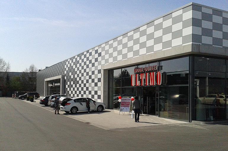 Fachmarkt F R Textilfilialisten Architektur