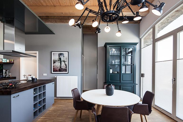 hochwertige loft wohnung architektur projektsteuerung h tt nes gmbh. Black Bedroom Furniture Sets. Home Design Ideas